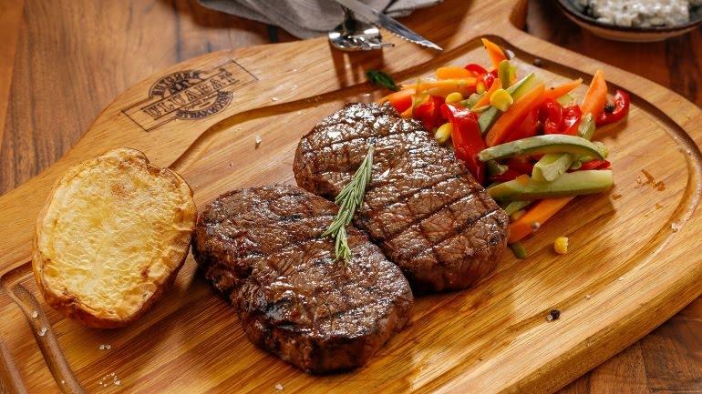 تغذية لحوم لحم بروتينات عجل بقر كفتة كباب ، المصدر بيكسابي